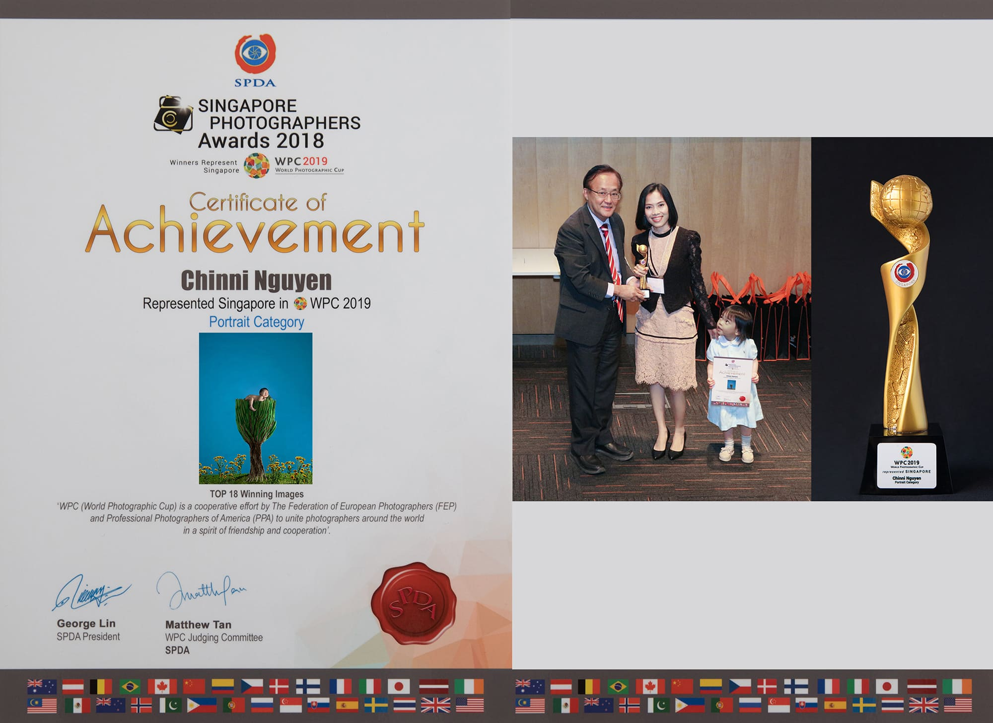 Represented Singapore in the World Photographic Cup 2019